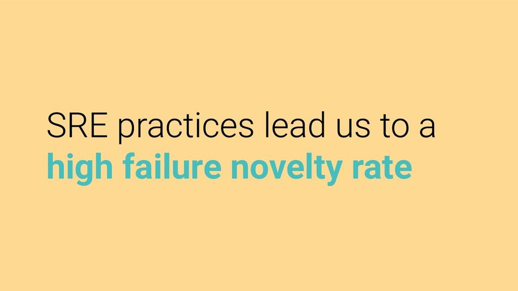 high failure novelty rate