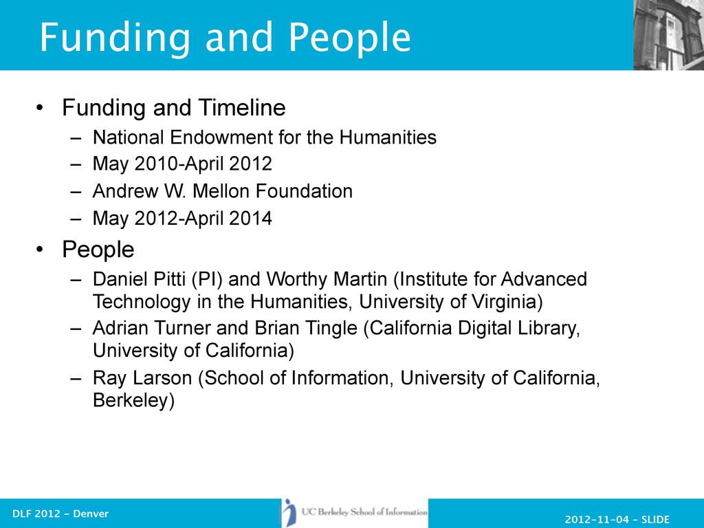 2012-11-04 - SLIDE DLF 2012 - Denver Funding an...