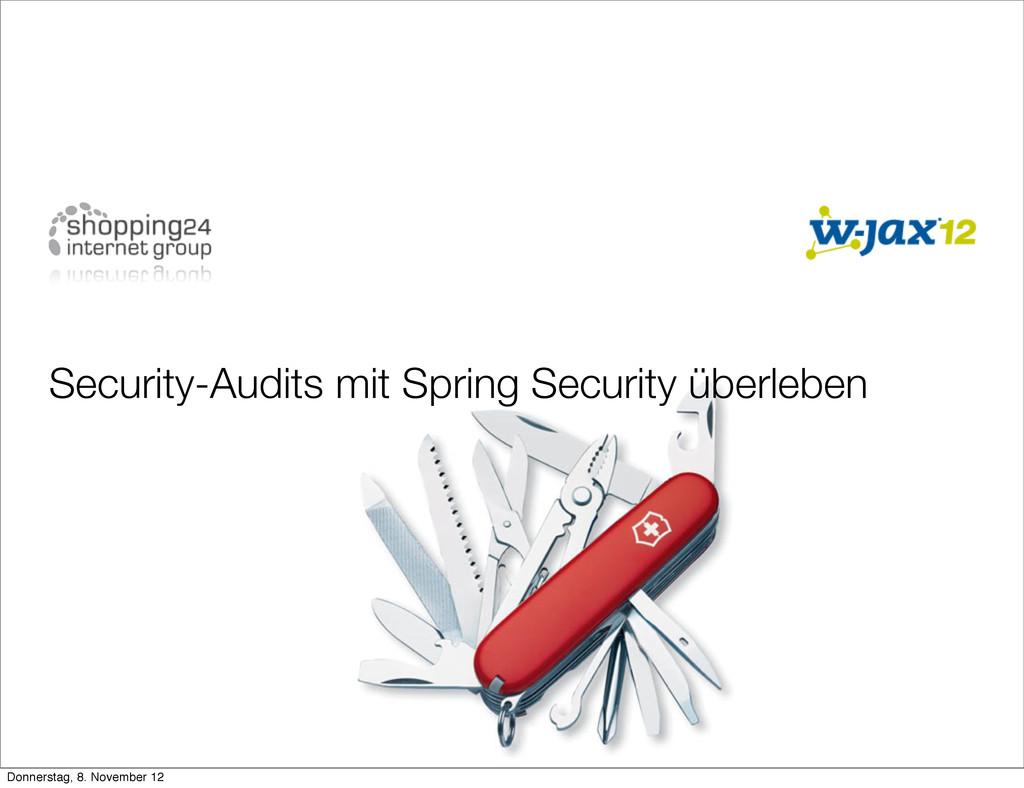 Security-Audits mit Spring Security überleben D...