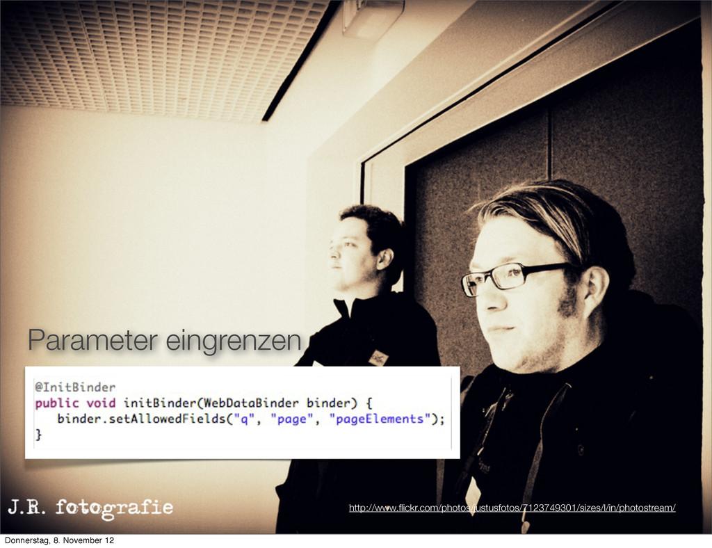 Parameter eingrenzen http://www.flickr.com/photo...
