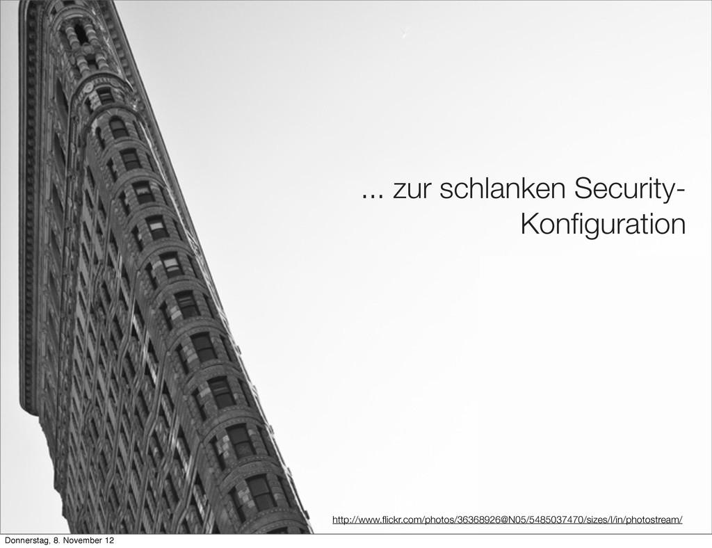 ... zur schlanken Security- Konfiguration http:/...