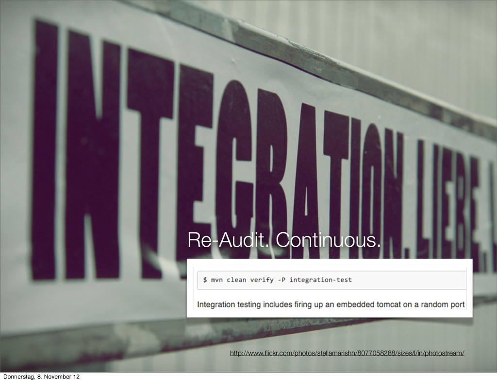 Re-Audit. Continuous. http://www.flickr.com/phot...