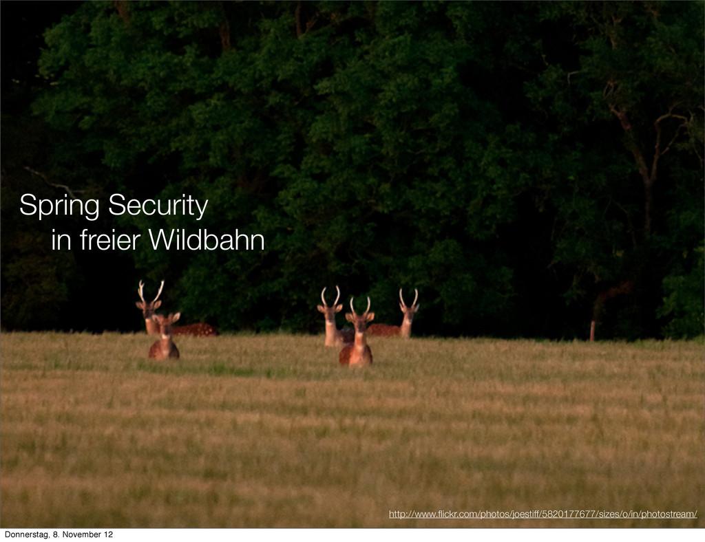 Spring Security in freier Wildbahn http://www.fl...