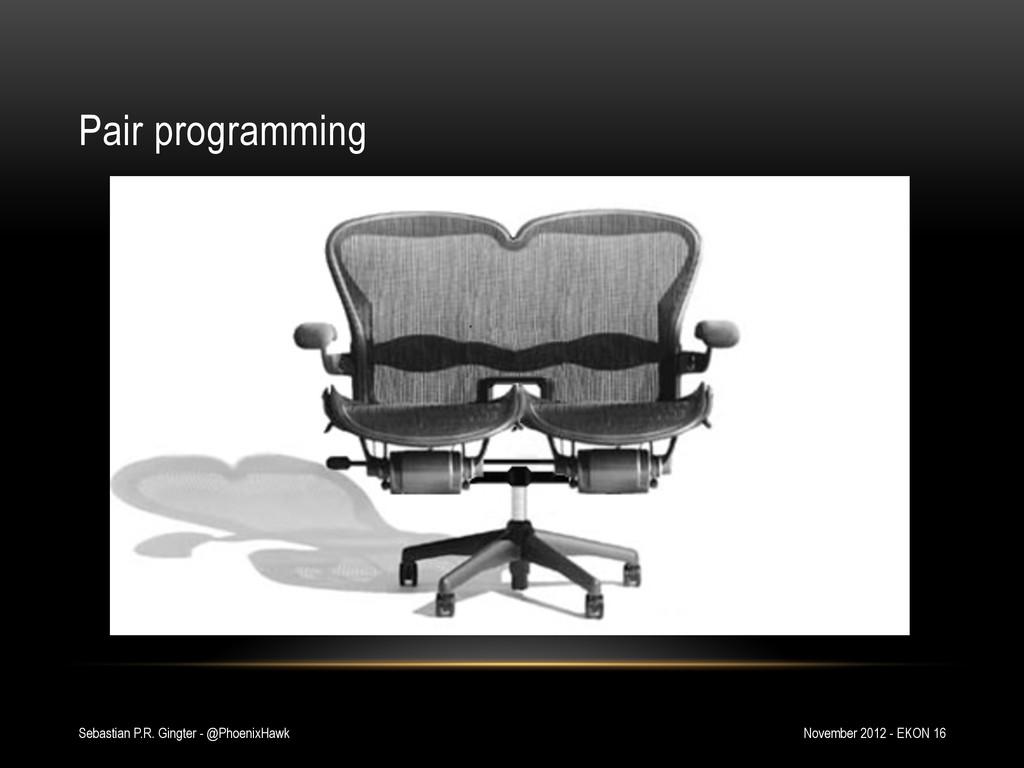 Pair programming November 2012 - EKON 16 Sebast...