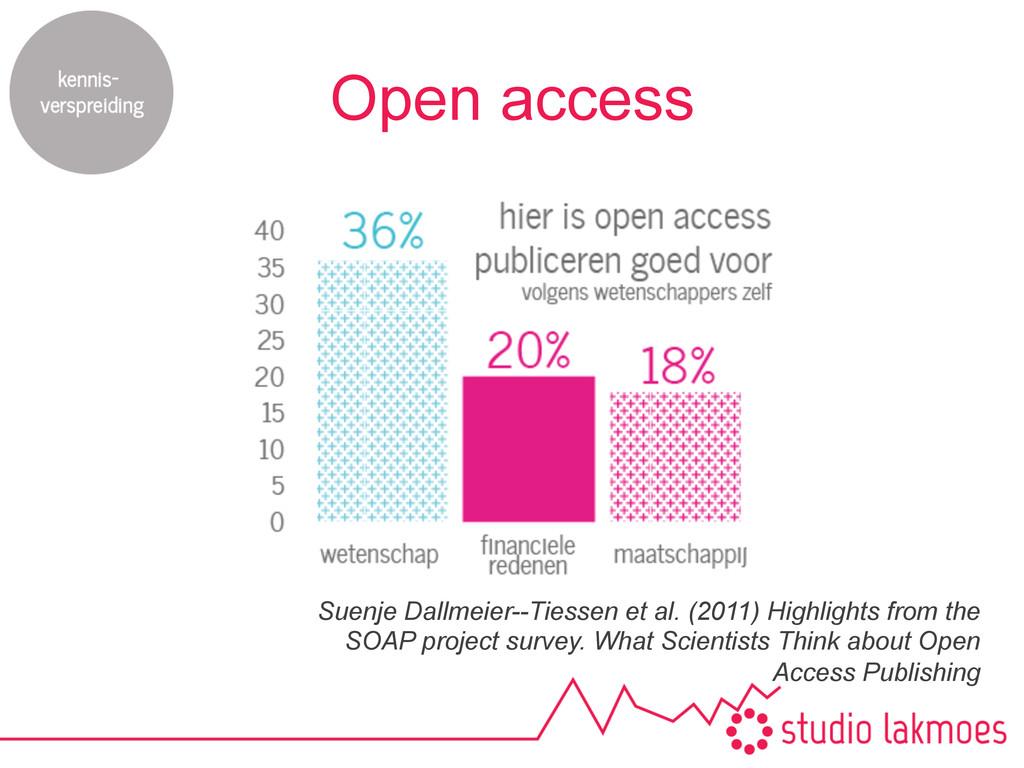 Open access Suenje Dallmeier--Tiessen et al. (2...