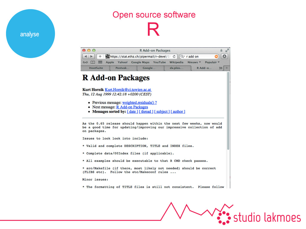 R Open source software