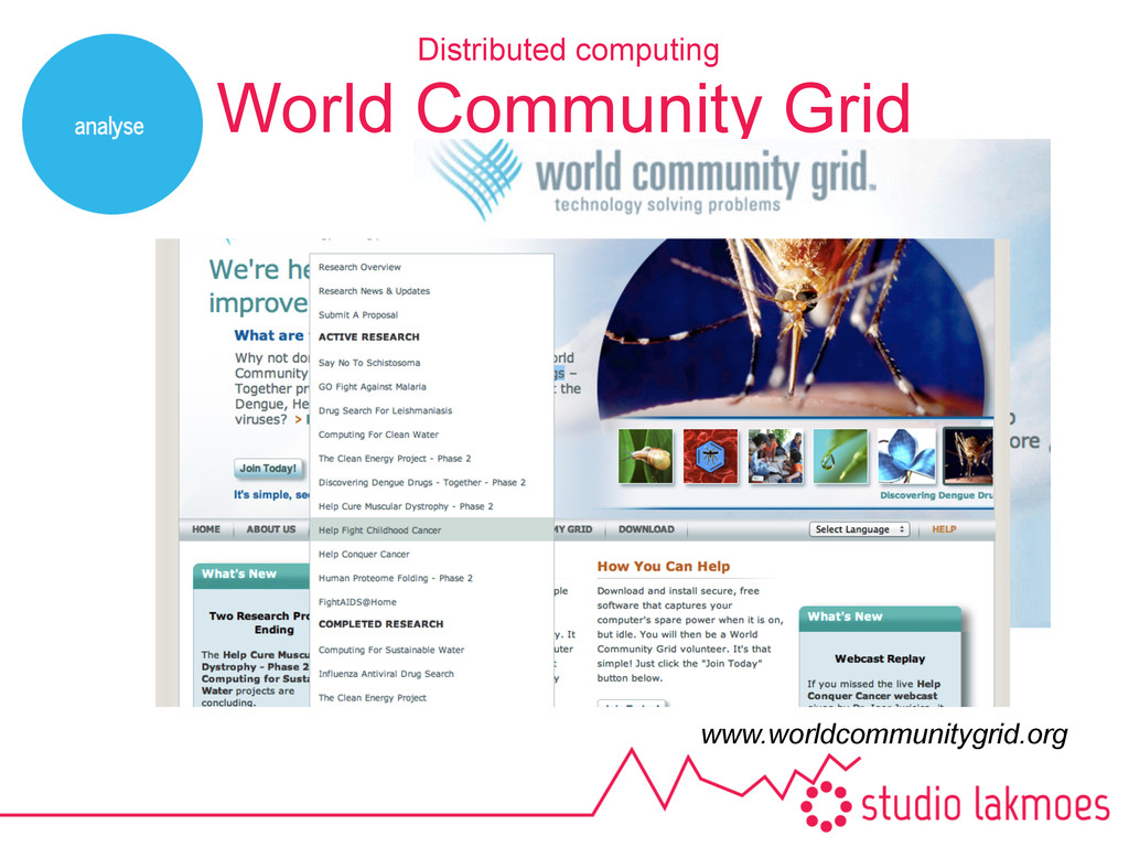 World Community Grid Distributed computing www....