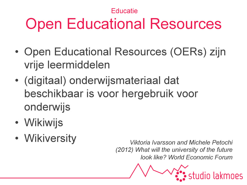 Open Educational Resources •  Open Educational ...