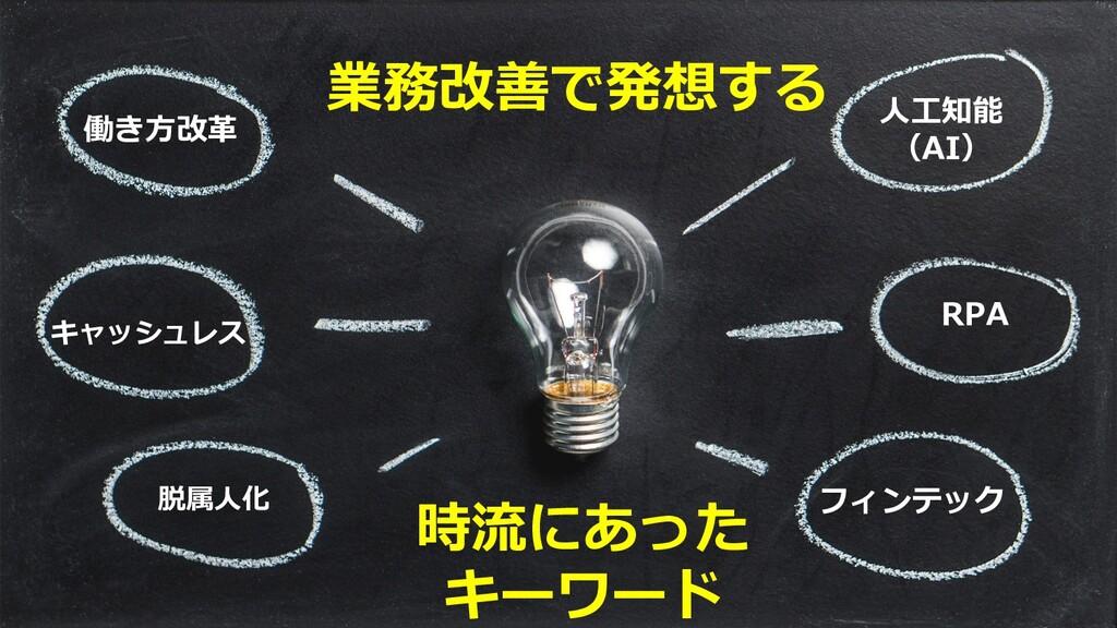 ©2019 3rd-Consulting 3 業務改善で発想する 時流にあった キーワード 働...