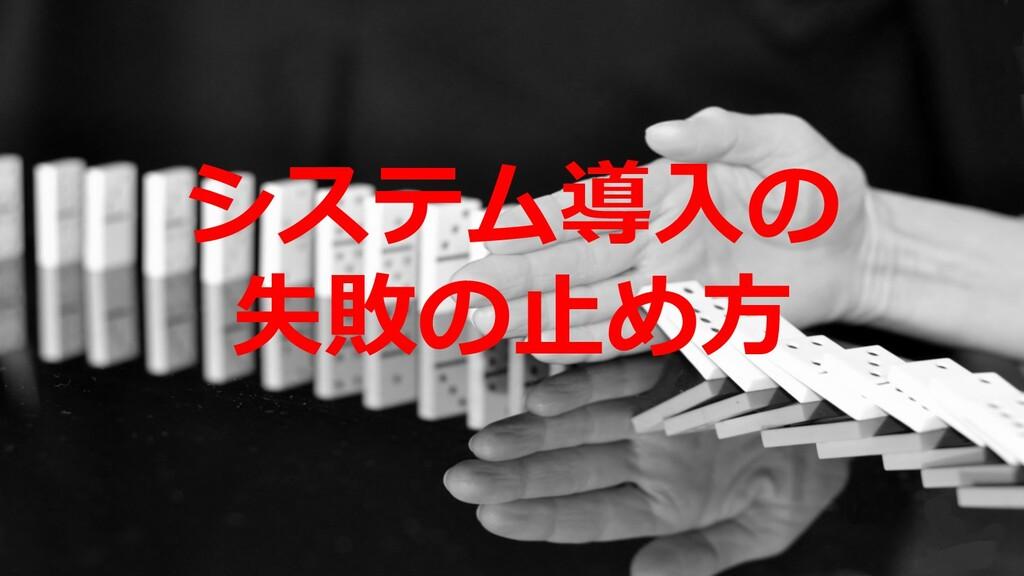 ©2019 3rd-Consulting 29 システム導⼊の 失敗の⽌め⽅
