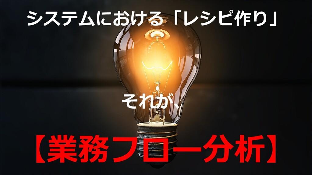©2019 3rd-Consulting 31 システムにおける「レシピ作り」 それが、 【業...