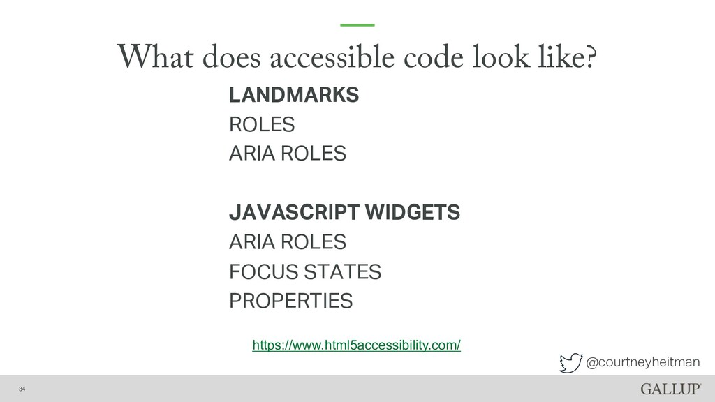 @courtneyheitman What does accessible code look...