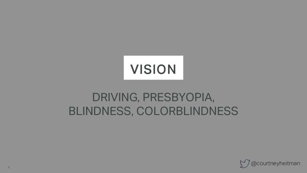 @courtneyheitman VISION DRIVING, PRESBYOPIA, BL...