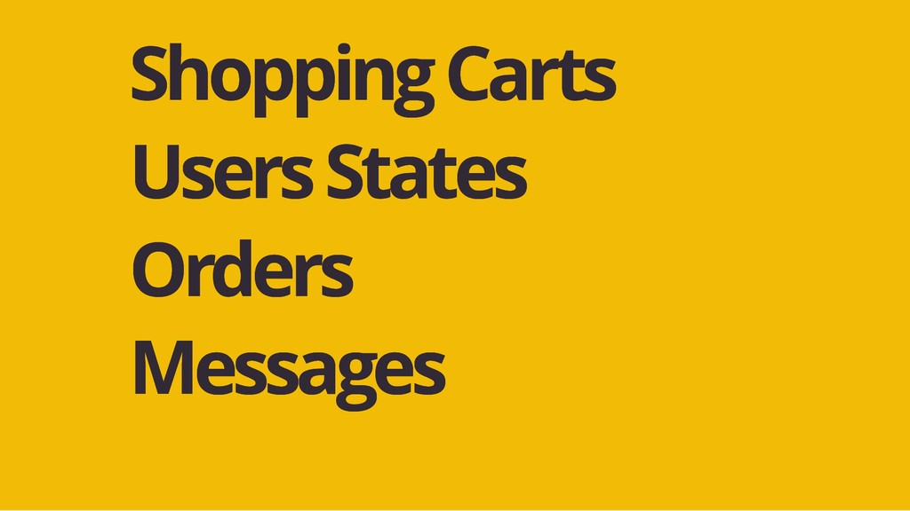 Shopping Carts Shopping Carts Users States User...