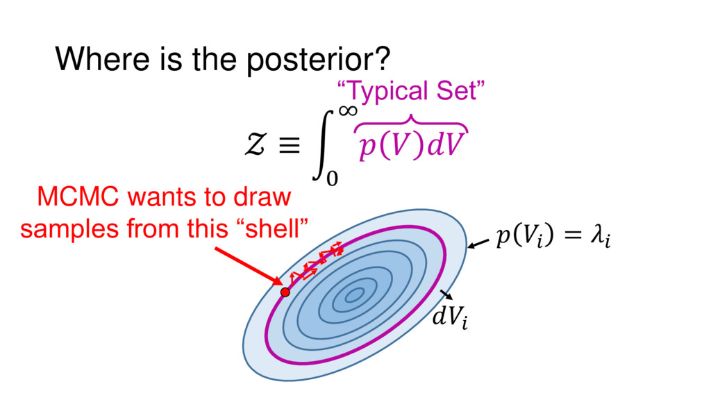"""=   Where is the posterior?  ≡ 0 ∞    """"Typica..."""