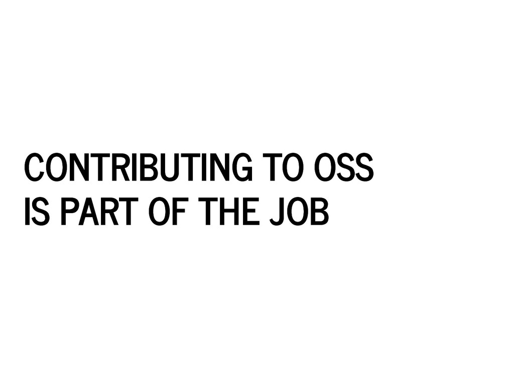 CONTRIBUTING TO OSS CONTRIBUTING TO OSS IS PART...
