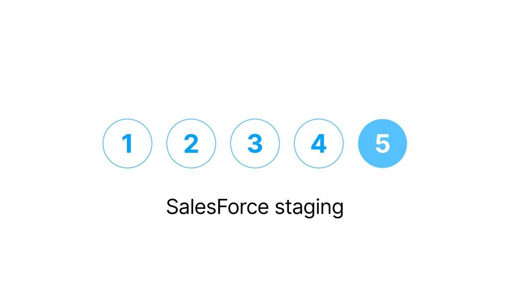 1 2 3 4 5 SalesForce staging