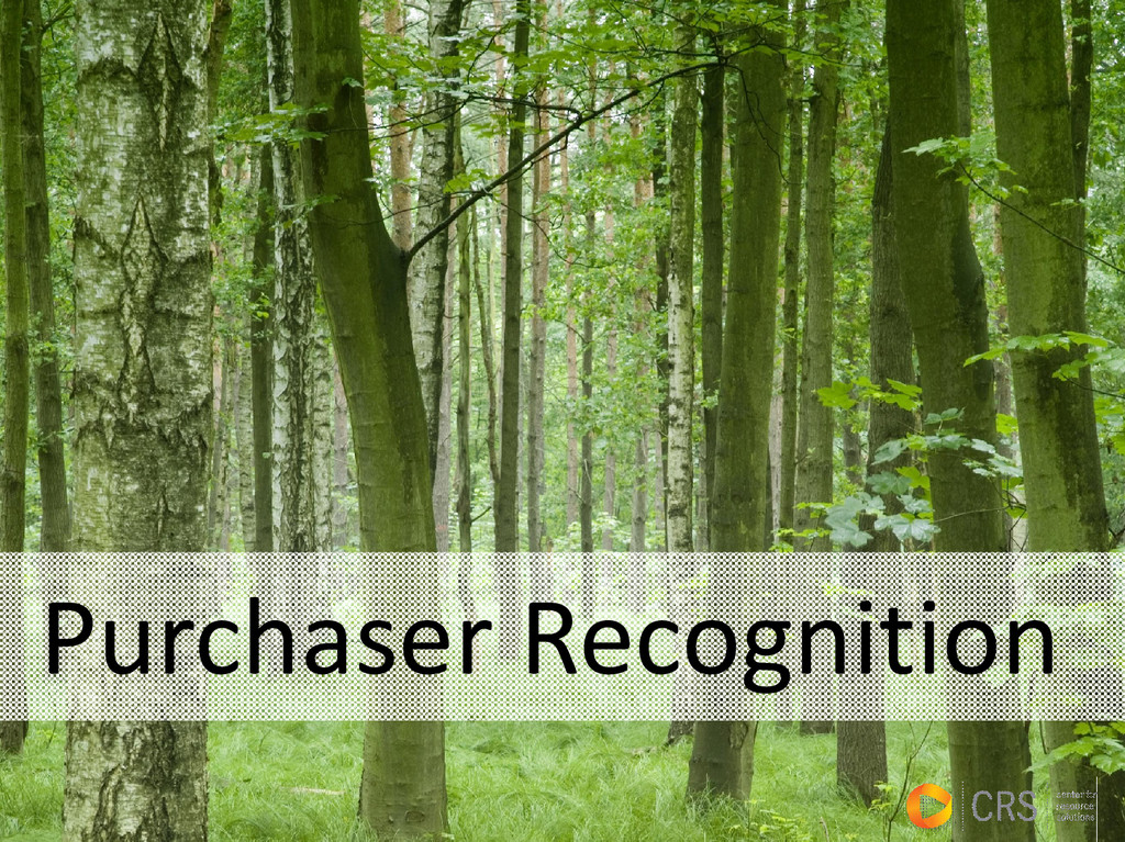 Purchaser Recognition