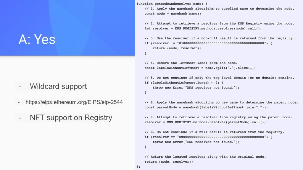 - Wildcard support - https://eips.ethereum.org/...