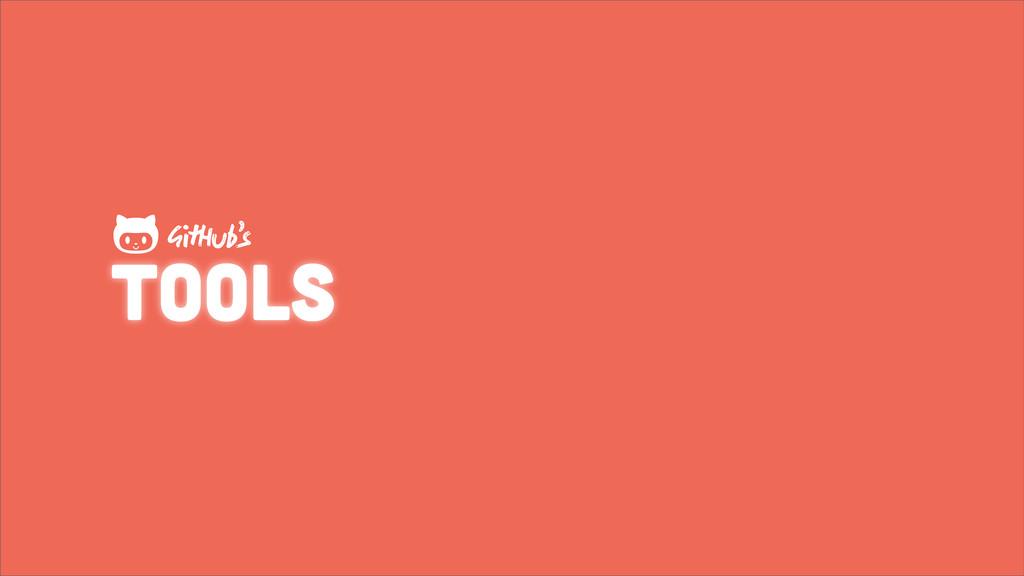 tools GHub's 