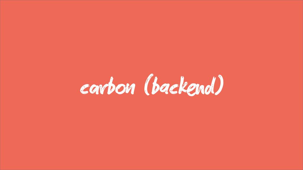 cb (backd)