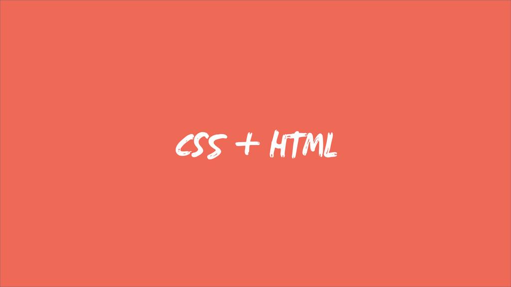 C + HTML