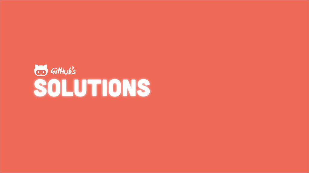 solutions GHub's 