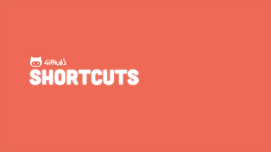 shortcuts GHub's 