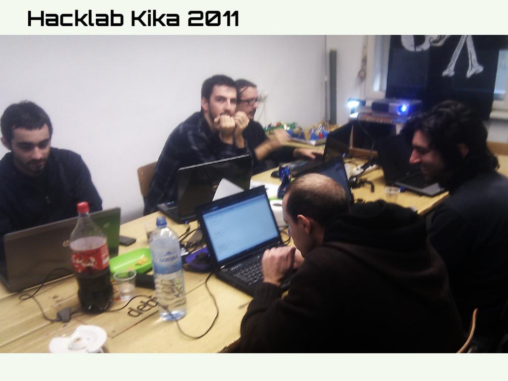 Hidden Slide Slower Hacklab Kika 2011