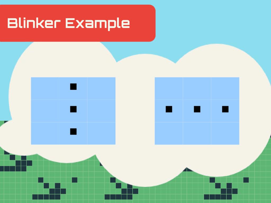 Hidden Slide Slower ■ ■ ■ ■ ■ ■ Blinker Example