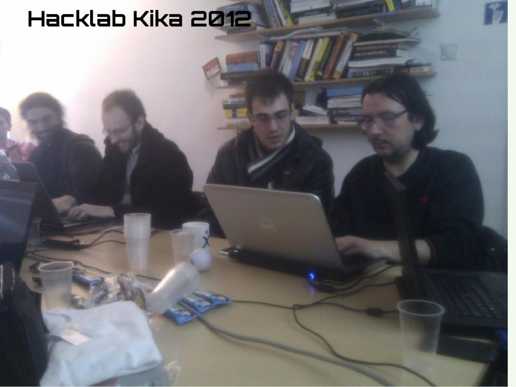 Hidden Slide Slower Hacklab Kika 2012