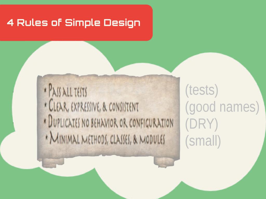 4 Rules of Simple Design Hidden Slide Slower (t...