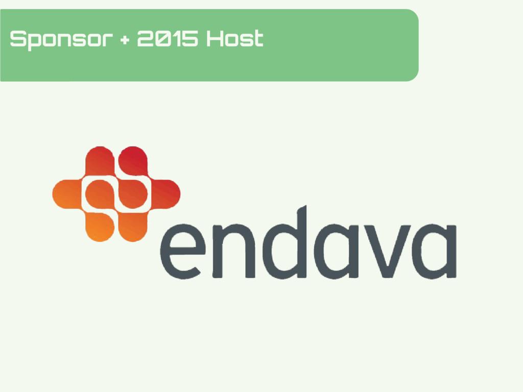 Sponsor + 2015 Host Hidden Slide Slower