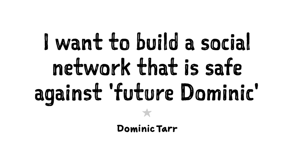 I want to build a social network that is safe a...