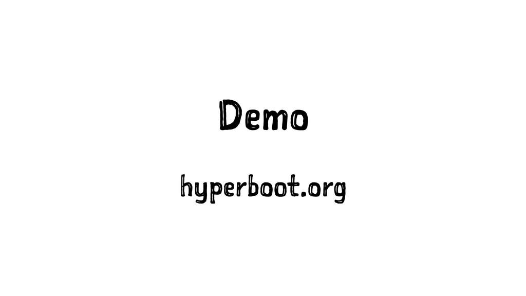 Demo hyperboot.org