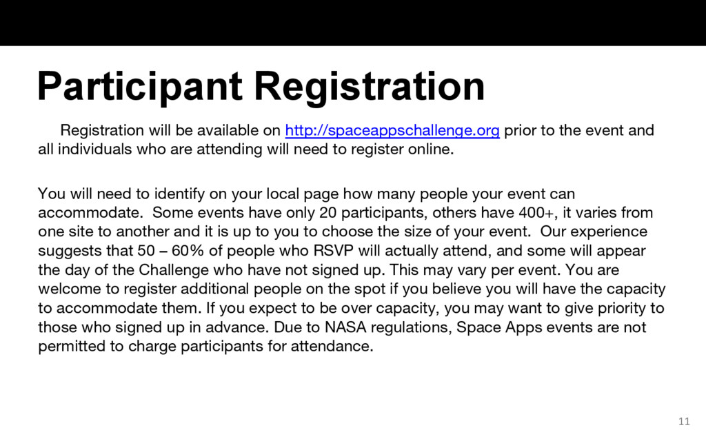 Registration will be available on http://spacea...