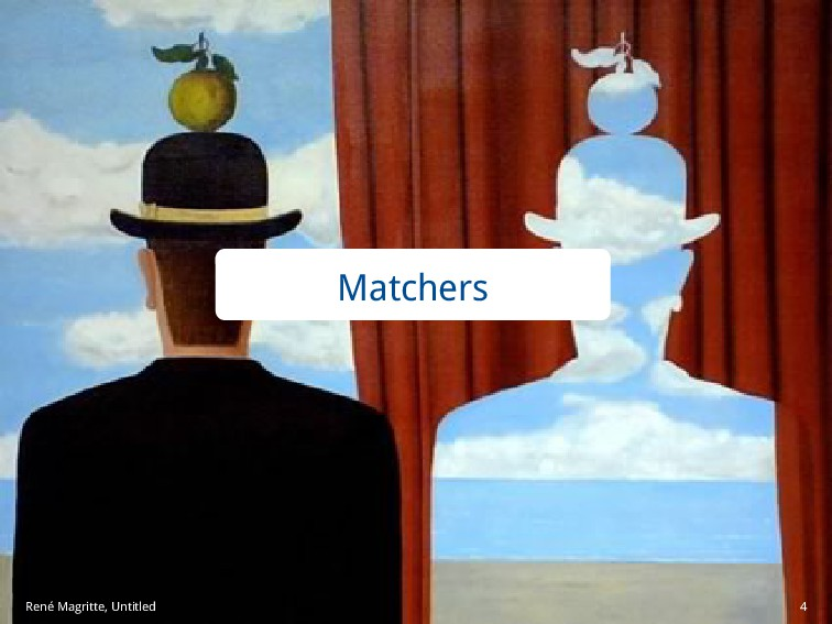 Matchers René Magritte, Untitled 4
