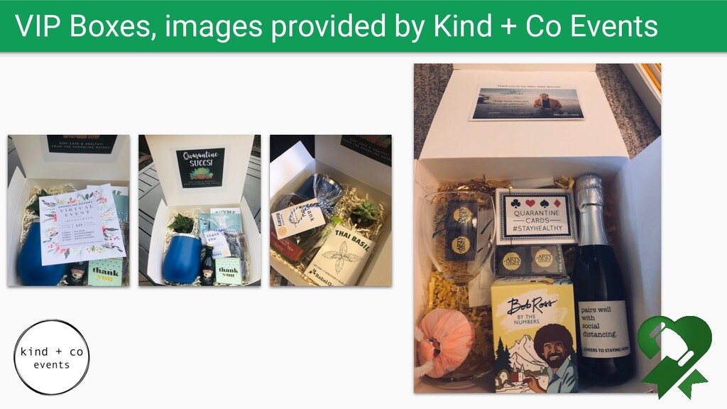 VIP Boxes, images provided by Kind + Co Events