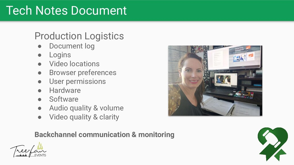 Tech Notes Document Production Logistics ● Docu...