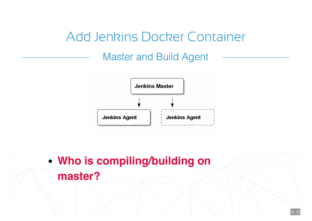 Add Jenkins Docker Container Who is compiling/b...