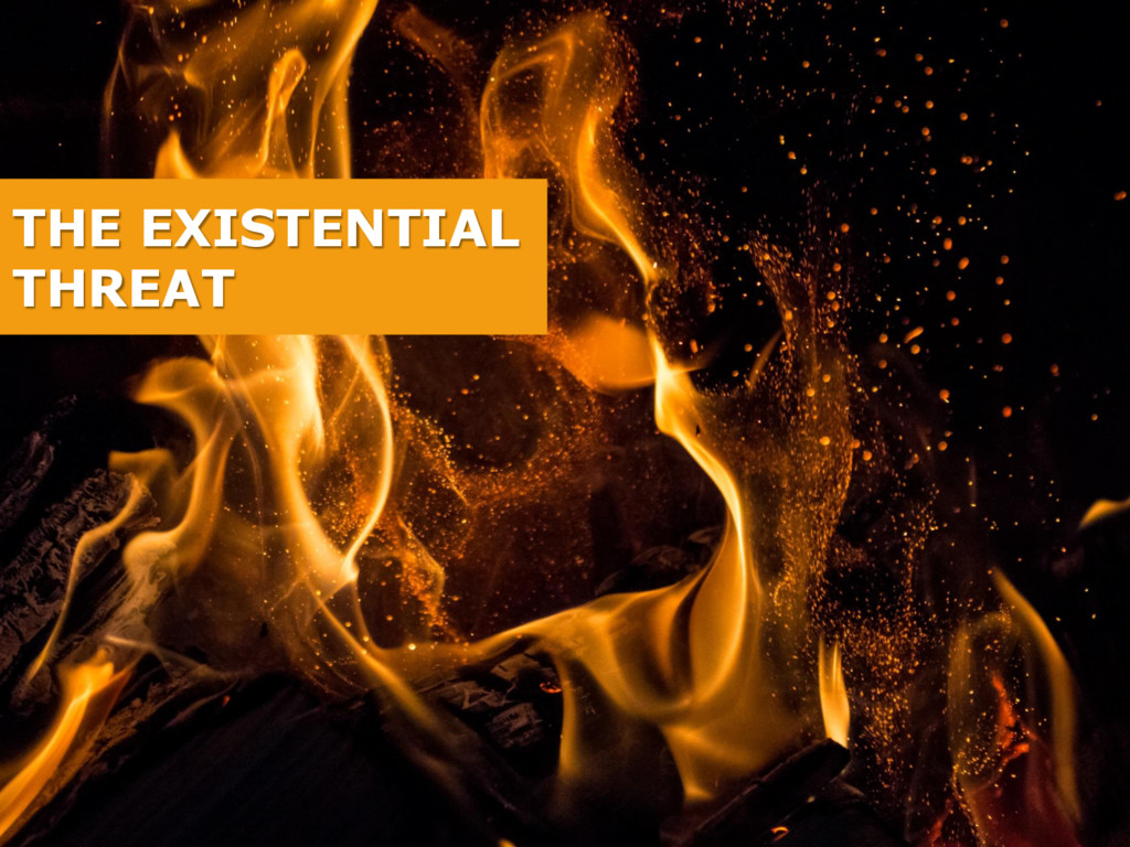 THE EXISTENTIAL THREAT
