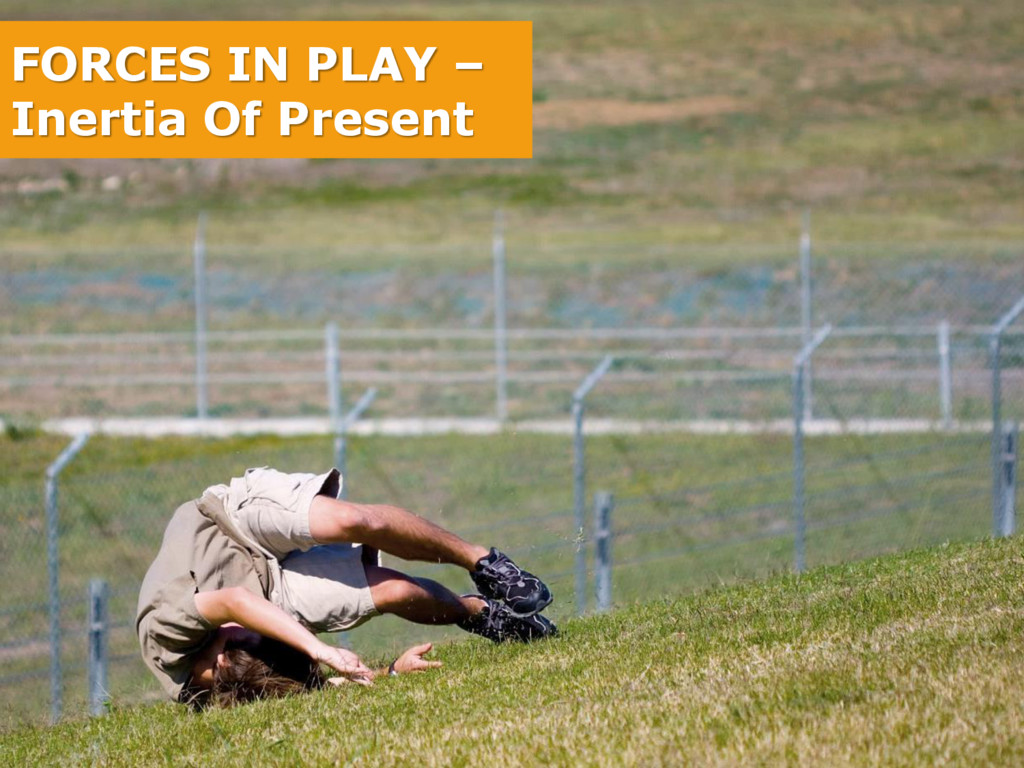 FORCES IN PLAY – Inertia Of Present