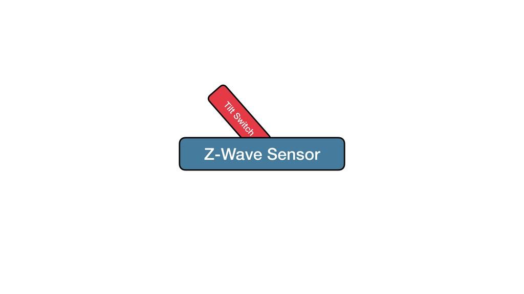 Tilt Sw itch Z-Wave Sensor