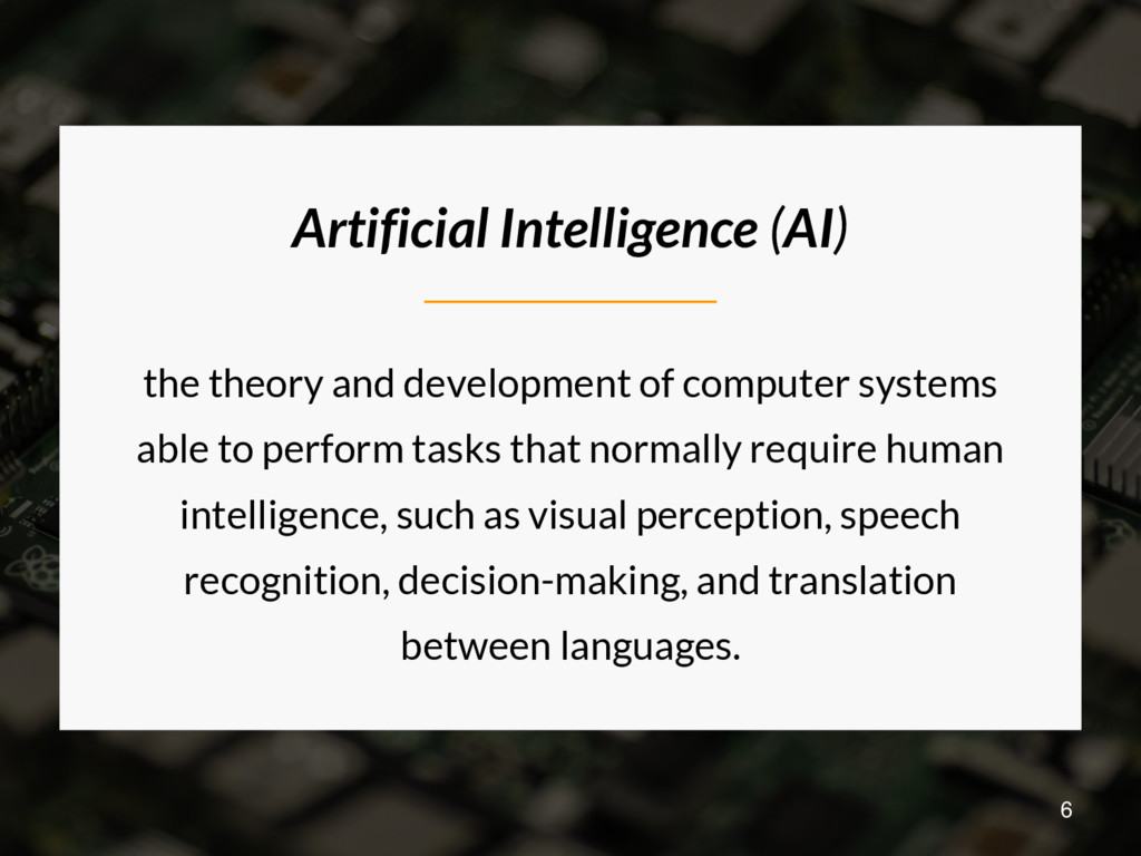 Artificial Intelligence (AI) the theory and dev...