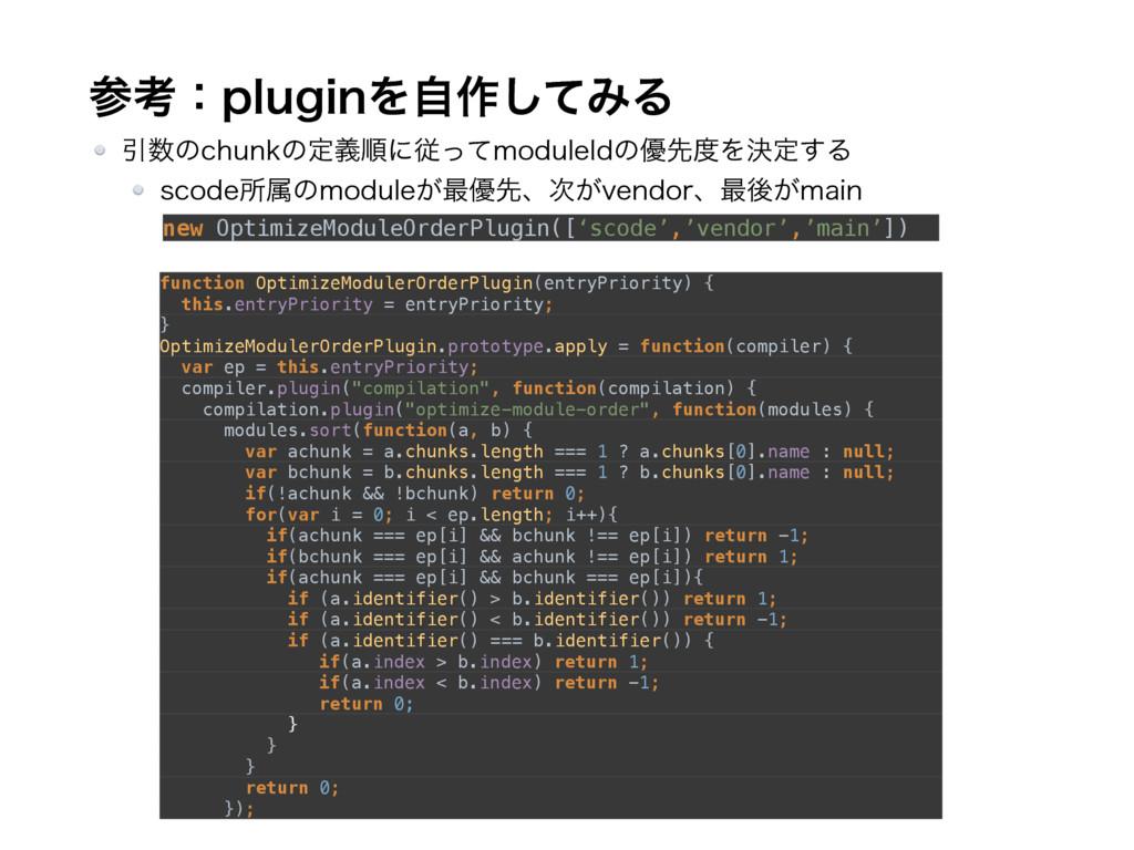 ߟɿQMVHJOΛࣗ࡞ͯ͠ΈΔ function OptimizeModulerOrderP...