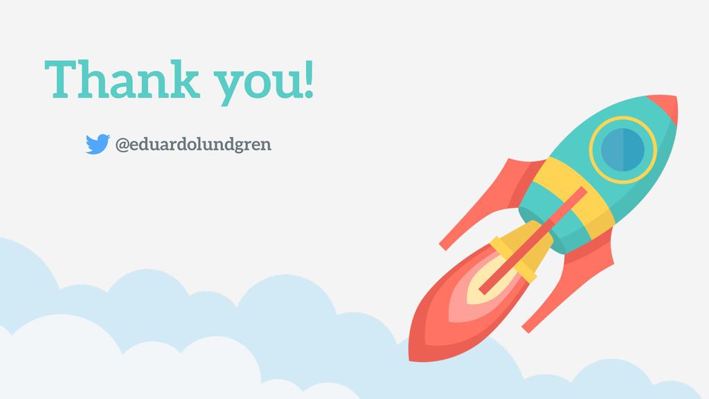 Thank you! @eduardolundgren