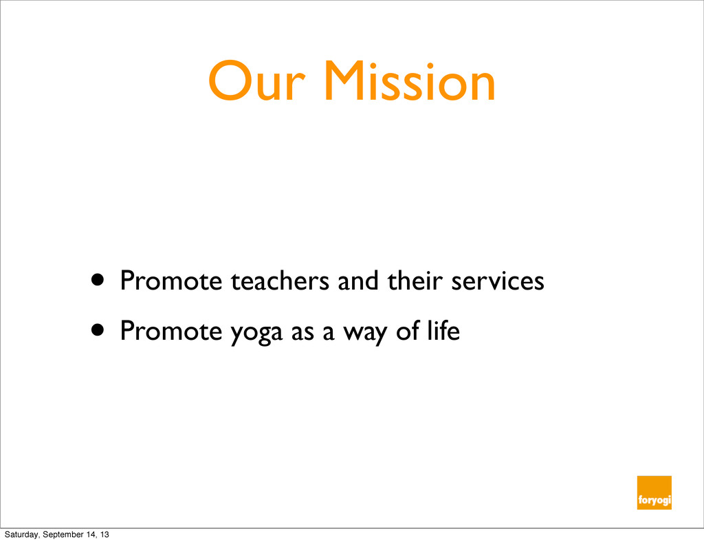 Our Mission • Promote teachers and their servic...