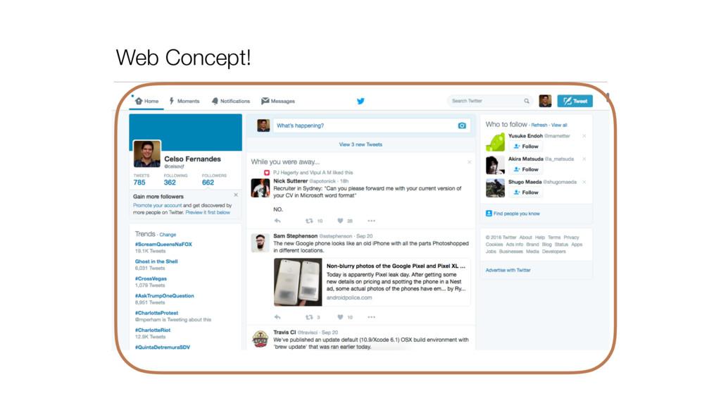 Web Concept!