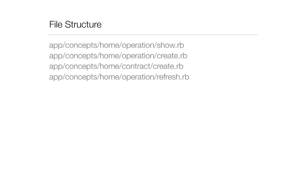 File Structure app/concepts/home/operation/show...