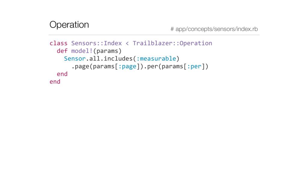 Operation class Sensors::Index < Trail...